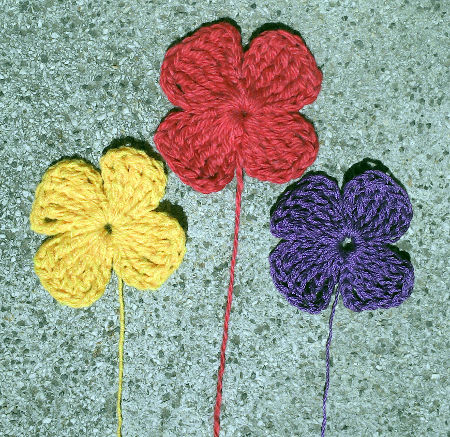 Flor n 21 a crochet - Hacer flores de ganchillo ...