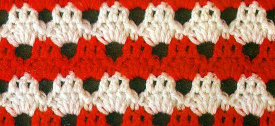 Punto N°29 en tejido crochet