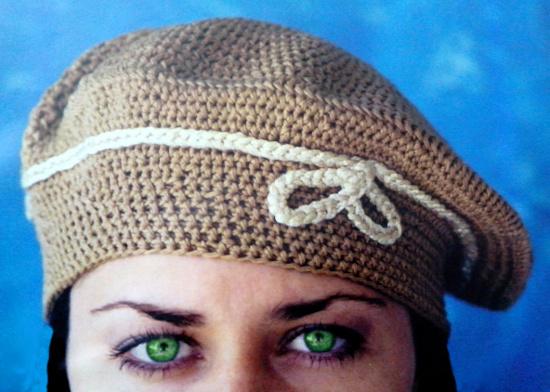 Video tutorial boina clásica en tejido crochet