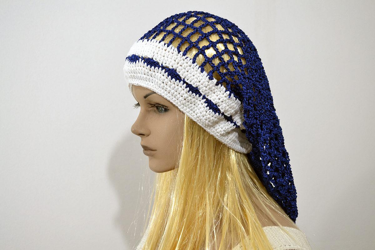 Boina caída en Tejido Crochet 72e813f3ab2