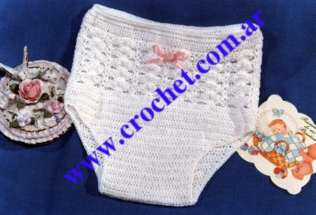 Conjunto para bautizo tejido a crochet