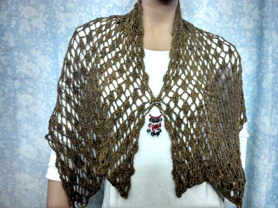 venta minorista cd97f 828e2 Bufanda chalina en tejido Crochet (Ganchillo)