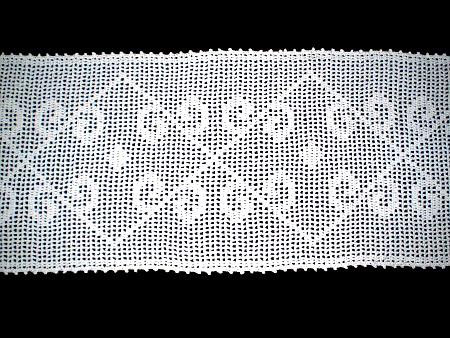 Camino Para Mesa En Tejido Crochet
