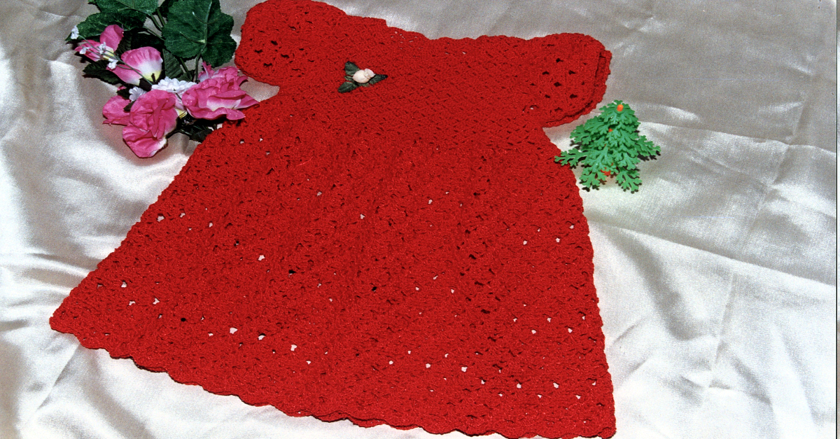 Vestido con Bombacha y Sombrero Tejido a Crochet 148eddb3c05