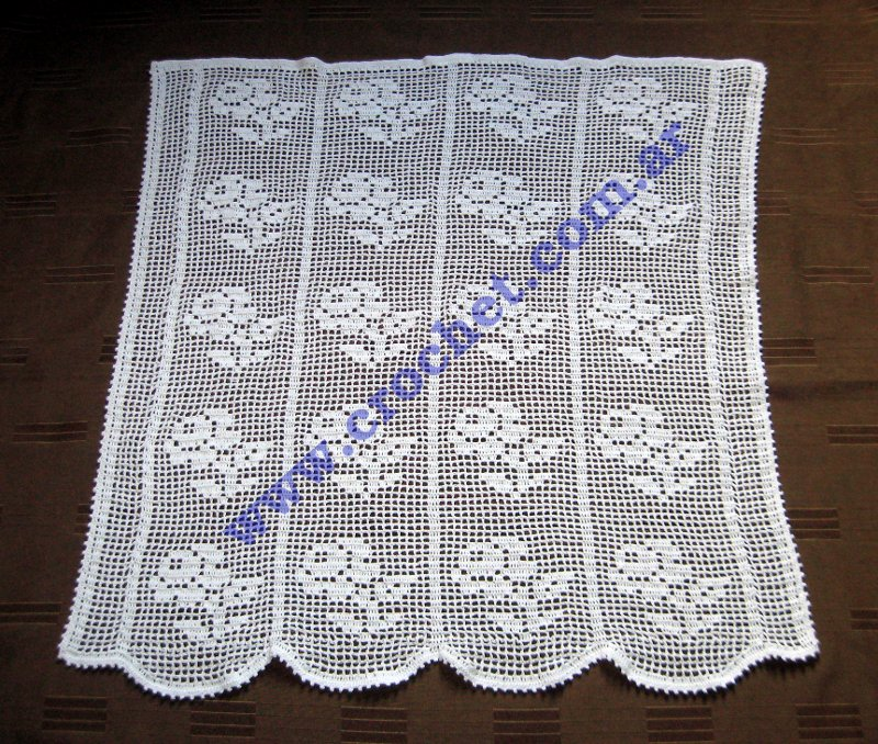 Patrones Para Cortinas De Crochet