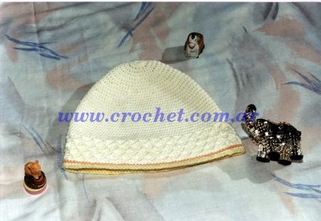 Gorro para Bebe Tejido a Crochet