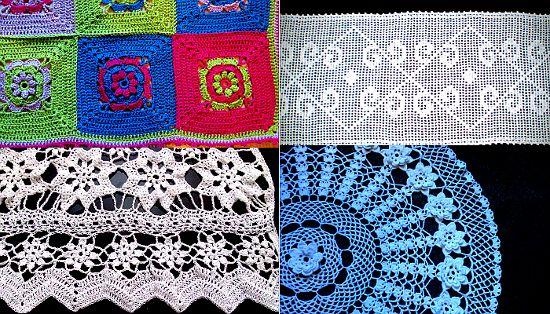 Sección hogar en tejido Crochet