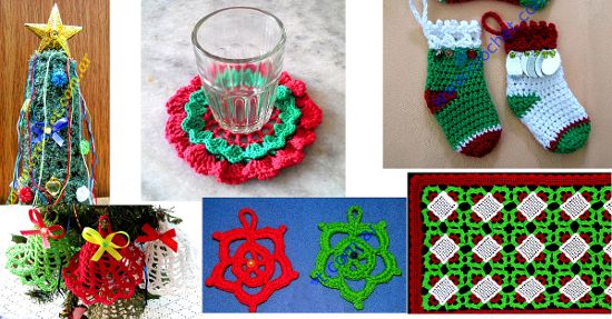 Sección navidad en tejido crochet