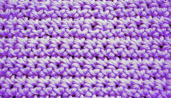 Punto Bajo en tejido crochet