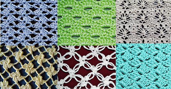 Sección Colección De Puntos De Crochet
