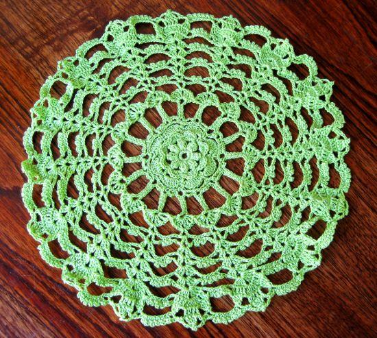 Tapete redondo en tejido crochet for Tapetes de ganchillo
